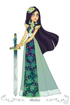 Mulan By Lee Ann DuFour Design