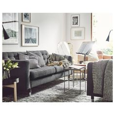 IKEA offers everything from living room furniture to mattresses and bedroom furniture so that you can design your life at home. Check out our furniture and home furnishings! Ikea Living Room, Living Room Furniture, Home Furniture, Furniture Stores, Cheap Furniture, Interior Rugs, Living Room Interior, Interior Design, Landskrona Sofa
