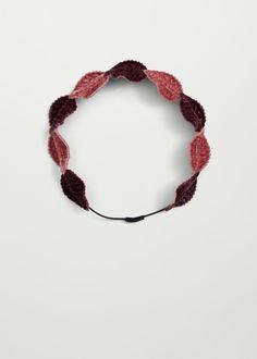 Leaf hairband | MANGO KIDS