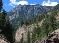 box canyon falls, Ouray Colorado