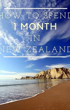 The Perfect Itinerary for a Month in New Zealand Day Hike, New Zealand, Collections, Awesome, Beautiful