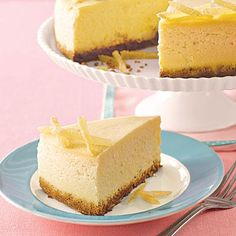 ... ginger-pear cheesecake with a gingersnap crust and crystallized ginger