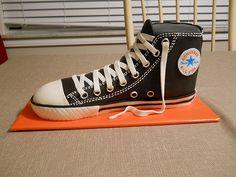 Converse Chuck Taylor tennis shoe cake | Flickr - Photo Sharing!