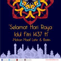 Selamat Hari Raya Idul Fitri 1437 H :) #eidmubarak #mastravelbiro