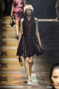 Lanvin spring 2015 collection show. Photo: Imaxtree
