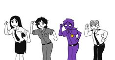 My kinda dancing *starts doing their dance* Yup! Fnaf Security Guards, Fnaf Night Guards, Fnaf 1, Sister Location, Five Nights At Freddy's, Ring Ring, I Love Him, Laughing