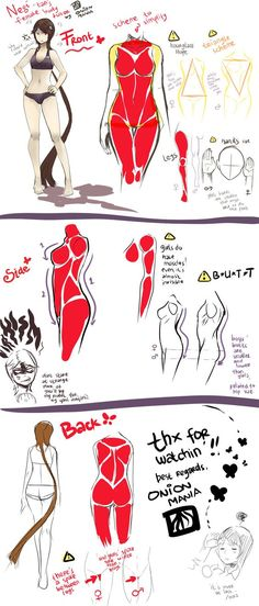 Exceptional Drawing The Human Figure Ideas. Staggering Drawing The Human Figure Ideas. Human Anatomy Drawing, Drawing Female Body, Female Torso, Human Figure Drawing, Figure Drawing Reference, Female Bodies, Female Muscle, Body Drawing Tutorial, Body Tutorial