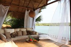10 Gorgeous Hotel Villas in Goa: Riverview Villa, Canacona Goa India, South India, Best Resorts, Best Hotels, Luxury Resorts, Luxury Tents, Goa Travel, Travel Maps, Mexico Travel