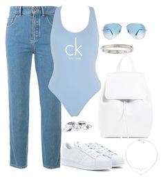 """""""Untitled #3252"""" by theaverageauburn on Polyvore featuring Chloé, Calvin Klein, adidas, Cartier and Ray-Ban"""