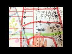 主婦のミシン100円リメイクNO2.ランドセルカバーの作り方、 - YouTube