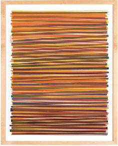 Image of Line Series Monoprint No. 18 - Dana McClure