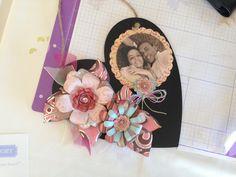 Precioso corazón adornado con flores de @Cricut®