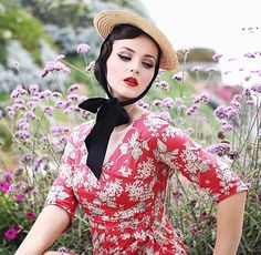 Rockabilly Fashion, Retro Fashion, Girl Fashion, Vintage Fashion, Rockabilly Style, Retro Girls, Vintage Girls, Vintage Wear, Retro Vintage