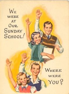 You had Sunday school before or after service. | 21 Signs You Grew Up Southern Baptist