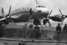 landing incident at LaGuardia Airport (LGA) involving TWA L049 Constellation N90816 (1950)