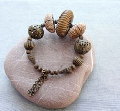 Sea Urchin Collection- Special Brass Bracelet from Star of the East by DaWanda.com