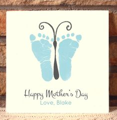This keepsake is made from your loved one's actual hand and footprints! Keepsake Description: Beautiful 8 x 8 plaque, created for durability at 1/2 thick Plaques can be created with holes for hanging, or no holes. If you choose to add holes to your plaque, we will add complimentary