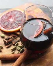 Blood Orange Mulled Wine
