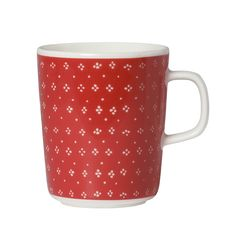 Cozy up with the Marimekko Muija Mug filled with your favorite tea, cocoa or coffee.