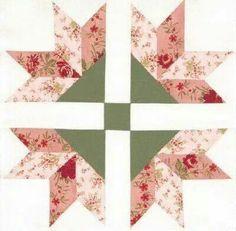 Quilt flower block
