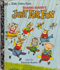 On Sale  Richard Scarry's  Just For Fun   by jennylouvintage, $4.00