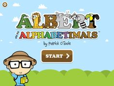 Albert and the Alphabetimals  Patrick O'Toole PreK Alphabet