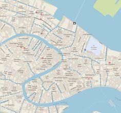 Central Venice most popular historical sights Venice top tourist