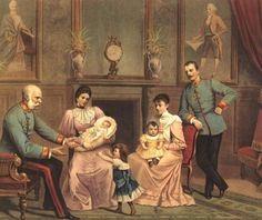 La Familia Imperial de Austria-Hungría