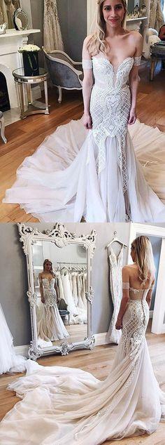 2017 wedding dresses,unique wedding dresses,design wedding dresses,mermaid wedding dresses @simpledress2480