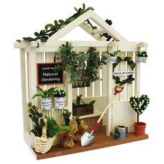 garden dollhouse kit