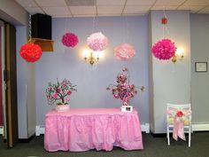 Girl Baby Shower Cake Table