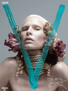 High fashion/ androgyny/ suicide/ domination  // - V Magazine - 2009