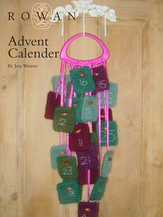 Advent Calendar in Rowan Kid Classic. Discover more Patterns by Rowan at LoveCrafts. From knitting & crochet yarn and patterns to embroidery & cross stitch supplies! Shop all the craft materials you need to start your next project. Advent Calendar Fillers, Rowan Yarn, Advent Calenders, Christmas Knitting Patterns, Cross Stitch Supplies, Yarn Shop, Craft Materials, Digital Pattern, Free Knitting