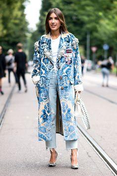 101 phong cách street style tại Tuần lễ thời trang Xuân Hè Milan