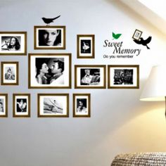 Frames wall sticker sweet old memory (AY856)