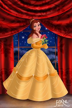 Belle cosplay Disney Princess Beauty & the Beast gold yellow Costume Gown Ball Dress #timetravelcostumes @TimeTravelStyle