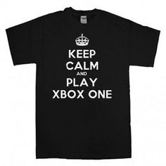 Keep Calm and Play XBOX One Men's T-shirts