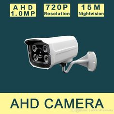 NEW 720P AHD 1.0MP Indoor Bullet Camera Security Video Surveillance CCTV AHD Camera With Bracket Online with $35.8/Piece on Yarsorcctvcamera's Store | DHgate.com