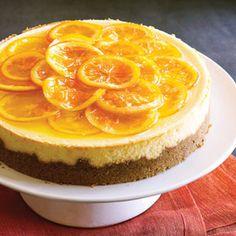 Orange Ribbon Cheesecake | MyRecipes.com