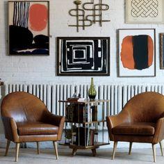Calvin Leather Chair