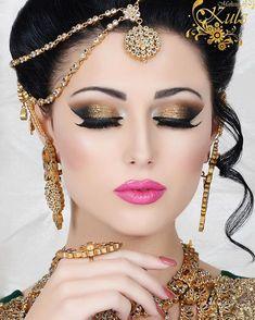 Super indian bridal photoshoot make up ideas Simple Bridal Makeup, Bridal Makeup Images, Asian Bridal Makeup, Indian Makeup, Bridal Makeup Looks, Bride Makeup, Bridal Beauty, Simple Makeup, Wedding Makeup