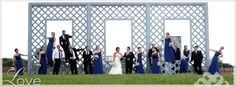 Fun pictures of large bridal party. © McKay's Photography Top NY Wedding Photographer Heather McKay