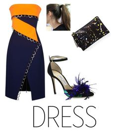 """""""Let's dance!"""" by fashski ❤ liked on Polyvore featuring Thierry Mugler, Loeffler Randall and Jimmy Choo"""