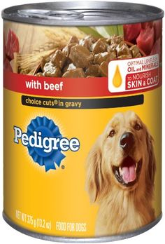 $18.97-$26.22 Pedigree choice cuts Meaty chunks in a delicious gravy that dogs love.
