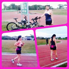 Biking.... Running...