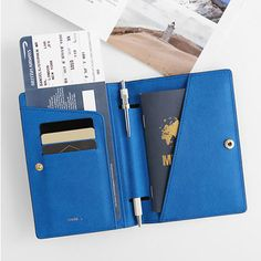 My new passport cover! -> InviteL La route du bonheur passport cover holder