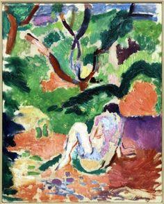 Nu dans la foret - Matisse