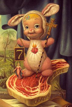 A Detail from Mark Ryden's Snow White by agitprop, via Flickr