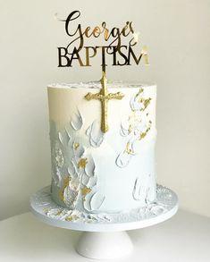 shakeology mug cake Boy Communion Cake, First Holy Communion Cake, Baptism Party, Boy Baptism, Baptism Ideas, Baby Christening Cakes, Baptism Cakes, Religious Cakes, Confirmation Cakes