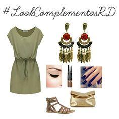 Comodidad ante todo  Este look con aretes de #complementosrd Ideal para una tarde